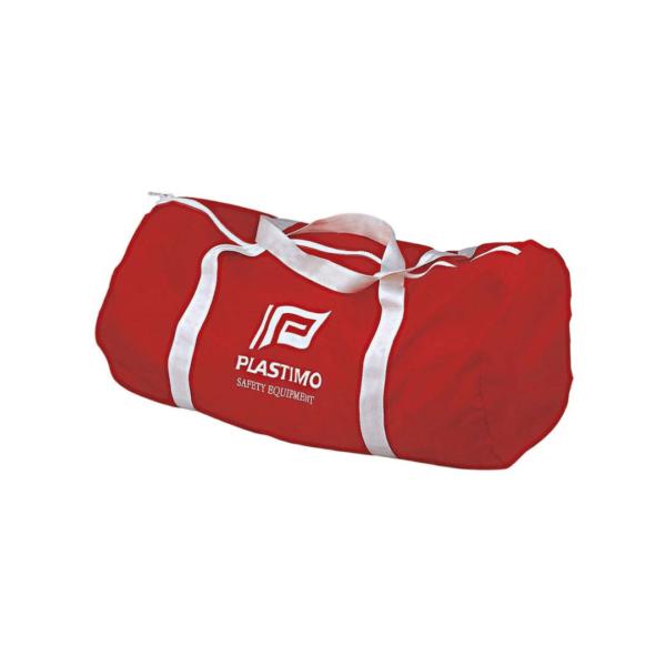 BAG-CYLINDER-PVC-RED-80LT-PLASTIMO