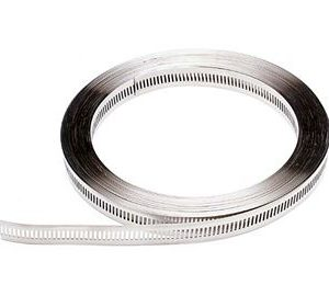 MULTI-TORQUE STAINLESS STEEL BAND. 16MM IN 30MT.COILS