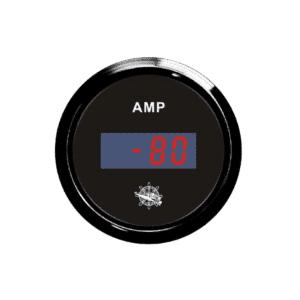 AMMETER-DIGITAL-12-24V-W-SHUNT-BLK-BLK-OSCULATI