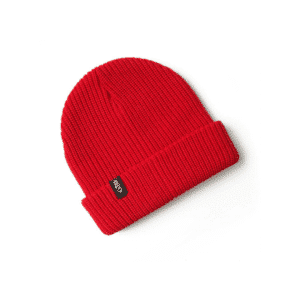 GILL BEANIE FLOATING KNIT RED 1-SIZE