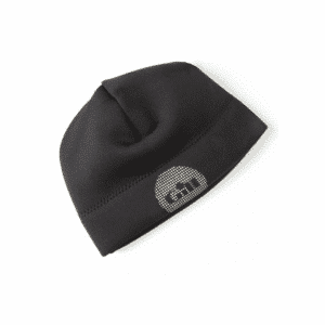GILL BEANIE THERMAL BLACK/RED SML/MED