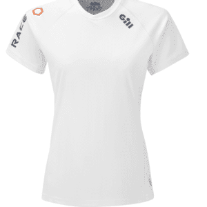 GILL T-SHIRT RACE S/S WHITE WOMEN