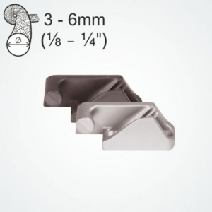 CLAM-CLEAT-SIDE-ENTRY-ALUM.-3-6MM