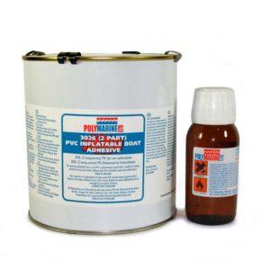 ADHESIVE PVC 3026 2-PART 1LT TIN POLYMARINE