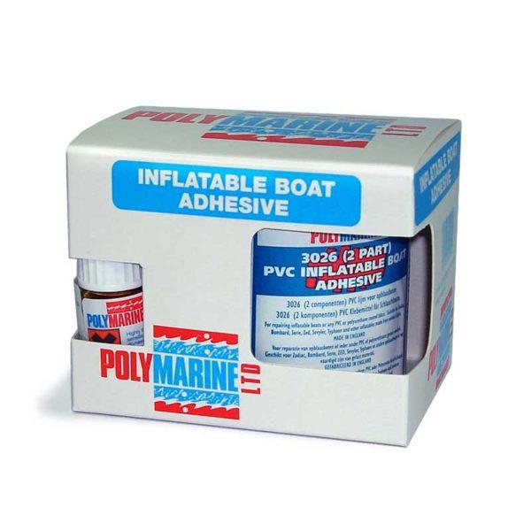 ADHESIVE PVC 3026 2-PART 250ML TIN POLYMARINE