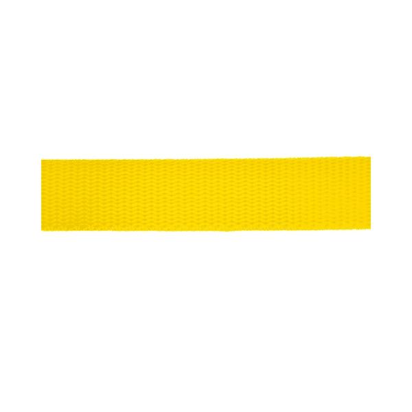 WEBBING-POLYPROP-25MM-50M-PMT-YELLOW-GB