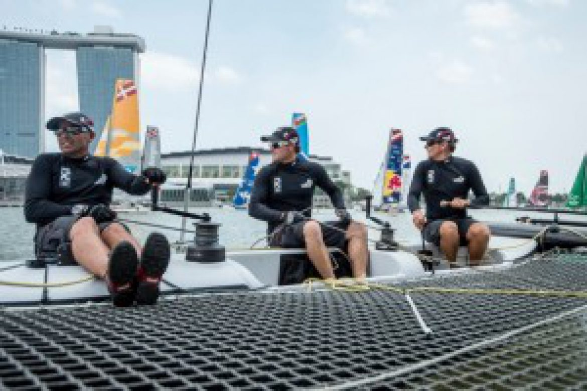 Gill – Official Technical Clothing Supplier to Emirates Team New Zealand